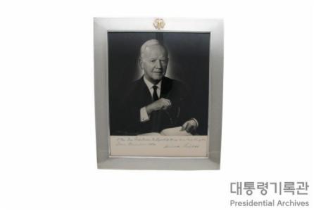 독일 하인리히 뤼브케 대통령 사진 이미지