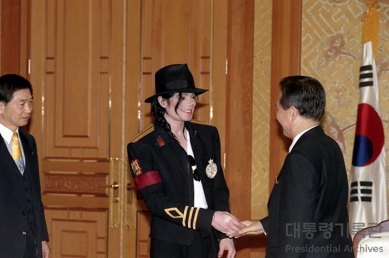 한반도의 통일을 기원한 팝의 황제  '마이클잭슨(Michael Jackson)'